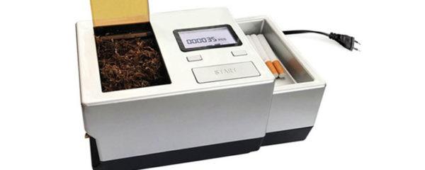 machines à tuber les cigarettes